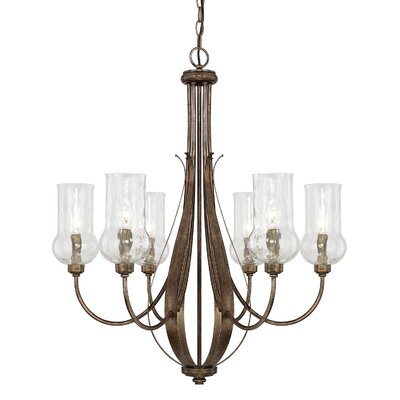 Homerton 6 Light Candle-Style Chandelier