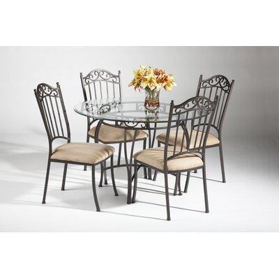 Burlington Wrought Iron Dining Table Base