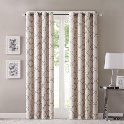 Chandler Print Single Light-filtering Single Curtain Panel