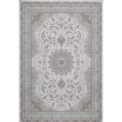 Ponton Ivory Area Rug Rug Size: Rectangle 53 x 77