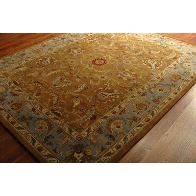 Taylor Brown & Blue Area Rug Rug Size: 5 x 8