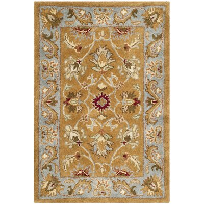 Taylor Brown & Blue Area Rug Rug Size: 2 x 3
