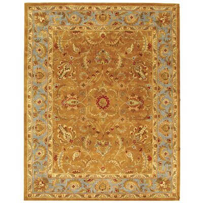 Taylor Brown & Blue Area Rug Rug Size: 11 x 17