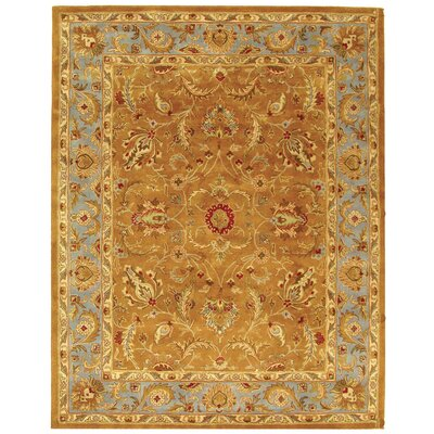 Taylor Brown & Blue Area Rug Rug Size: 12 x 18