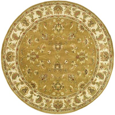 Taylor Green Area Rug Rug Size: Round 6