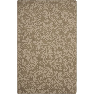 Palmwood Modern Brown/Gray Area Rug Rug Size: 5 x 8