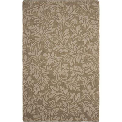 Palmwood Modern Brown/Gray Area Rug Rug Size: Rectangle 5 x 8