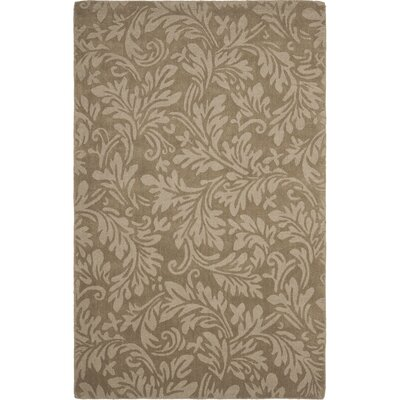 Palmwood Modern Brown/Gray Area Rug Rug Size: 6 x 9