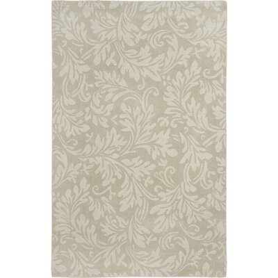 Palmwood Sage Beige/Gray Area Rug Rug Size: Rectangle 4 x 6