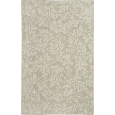 Palmwood Sage Beige/Gray Area Rug Rug Size: 3 x 5
