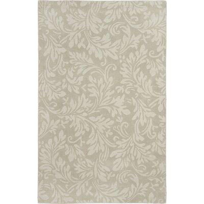 Palmwood Sage Beige/Gray Area Rug Rug Size: 5 x 8