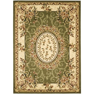 Taufner Sage Area Rug Rug Size: Rectangle 53 x 76