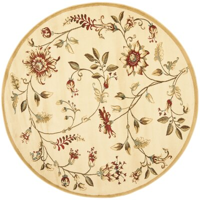 Taufner Ivory Area Rug Rug Size: Rectangle 89 x 12