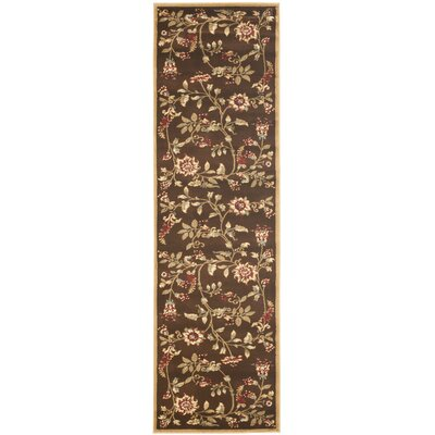 Taufner Brown Area Rug Rug Size: Runner 2'3
