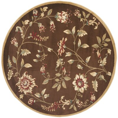 Taufner Brown Area Rug Rug Size: Rectangle 33 x 53