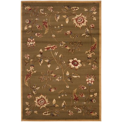 Taufner Brown Area Rug Rug Size: 33 x 53