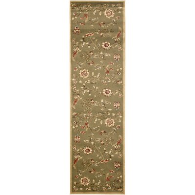 Taufner Brown Area Rug Rug Size: Runner 23 x 8