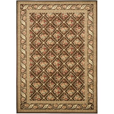 Taufner Brown Area Rug Rug Size: 8' x 11'