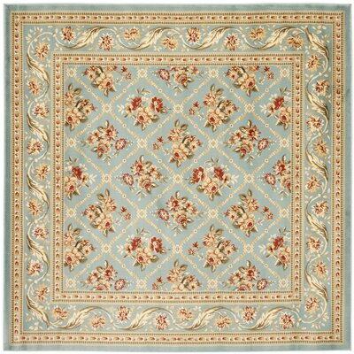Taufner Blue Area Rug Rug Size: Square 67
