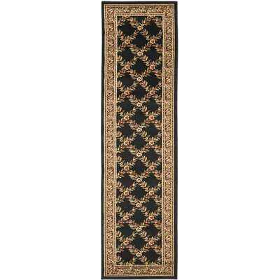 Taufner Black/Brown Area Rug Rug Size: Runner 23 x 8