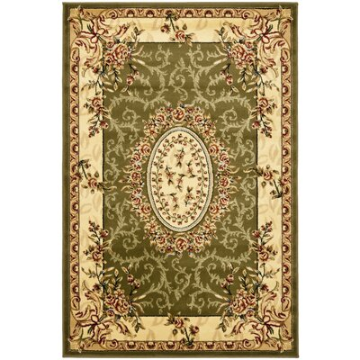 Taufner Sage Area Rug Rug Size: Rectangle 4 x 6