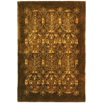 Calhoun Olive Area Rug Rug Size: Rectangle 5 x 8