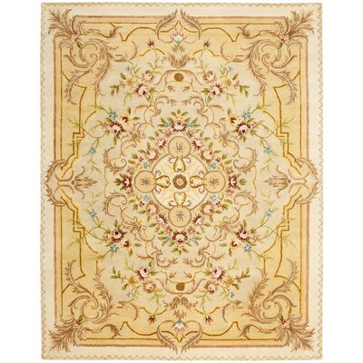 Payton Beige/Light Gold Area Rug Rug Size: 8'3