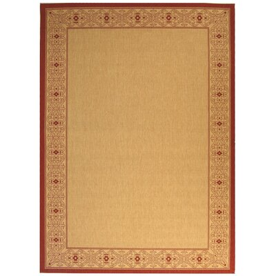Beasley Border Outdoor Rug Rug Size: Rectangle 53 x 77