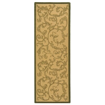 Beasley All Over Ivy Outdoor Rug Rug Size: Rectangle 27 x 5