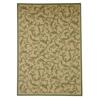 Beasley All Over Ivy Outdoor Rug Rug Size: 4 x 57