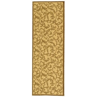 Beasley All Over Ivy Outdoor Rug Rug Size: Runner 2'4