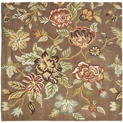 Jani Brown Area Rug Rug Size: Square 6