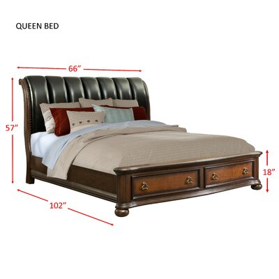 Reese Storage/Ottoman Bed