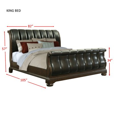 Reese Sleigh Bed