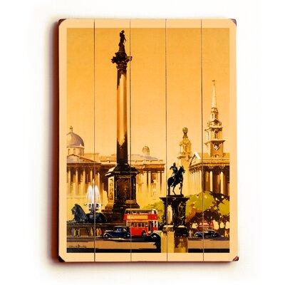 London Trafalgar Square 1948-1965 Vintage Advertisement