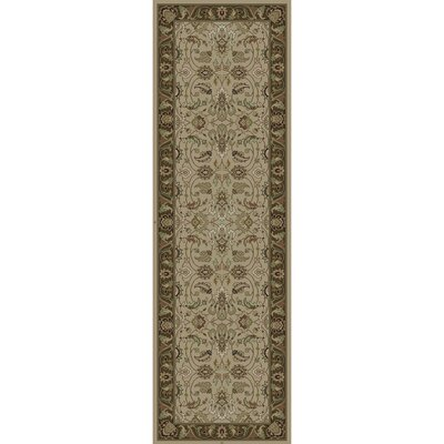 Wiley Hand-Knotted Dark Brown Area Rug Rug size: Runner 2'6