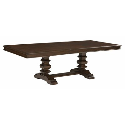 Parthena Trestle Table Top with 18 Leaf