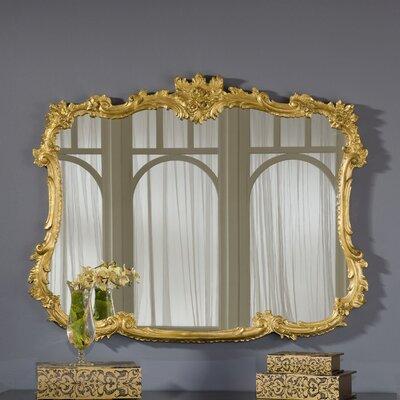 Buffet Mirror Finish: Gold Leaf