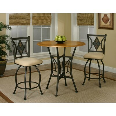 McArthur 3 Piece Pub Table Set