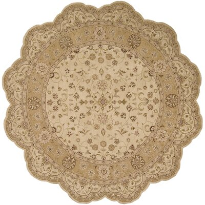 Lundeen Beige Area Rug Rug Size: Rectangle 39 x 59