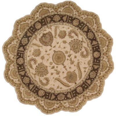 Lundeen Beige Floral Area Rug Rug Size: Novelty 8