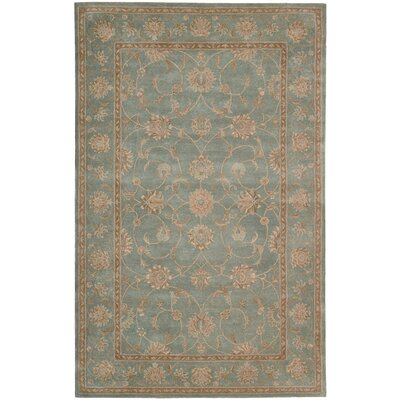 Lundeen Blue Area Rug Rug Size: Rectangle 56 x 86