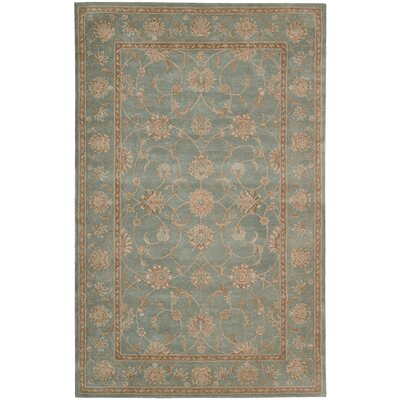 Lundeen Blue Area Rug Rug Size: 56 x 86