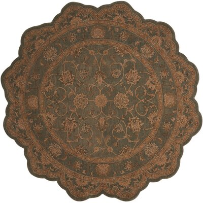Lundeen Blue Area Rug Rug Size: Novelty 6 x 6
