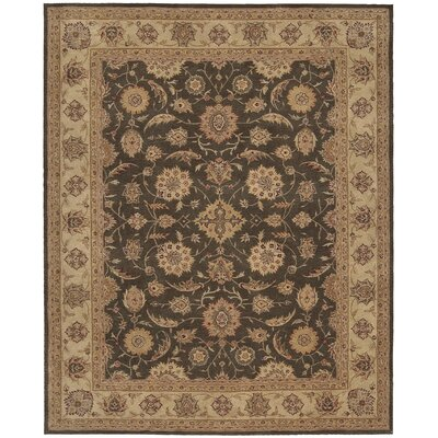 Lundeen Brown Area Rug Rug Size: 56 x 86