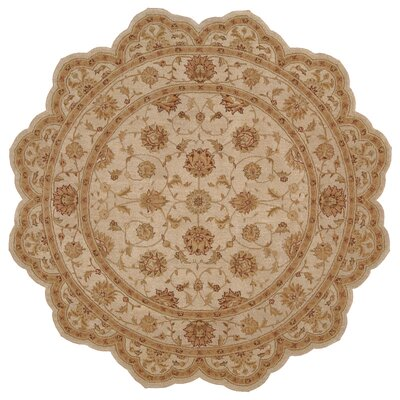 Lundeen Brown Area Rug Rug Size: Novelty 6 x 6