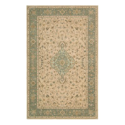 Lundeen Brown/Tan Geometric Area Rug Rug Size: 39 x 59