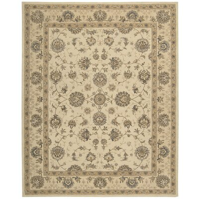 Lundeen Cream Area Rug Rug Size: Rectangle 26 x 42