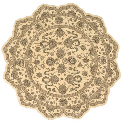 Lundeen Ivory Area Rug Rug Size: Runner 26 x 8