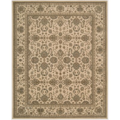 Lundeen Ivory Area Rug Rug Size: 26 x 42